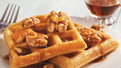 Waffles: A Golden Start of a Brand New Day!